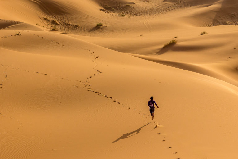 Hoofdfoto bij reisverhaal 'Genieten van het leven in Erg Chebbi'