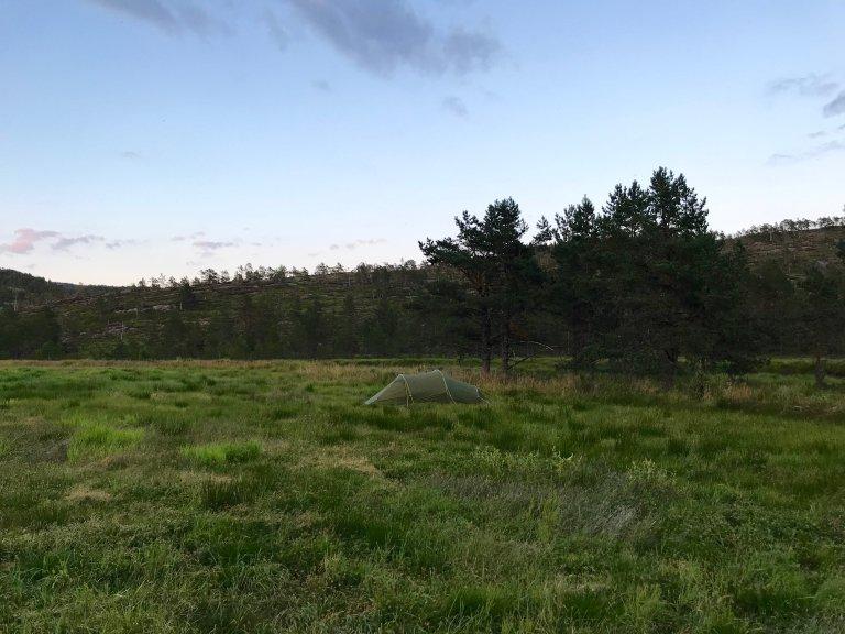 Hoofdfoto bij reisverhaal 'Wildkamperen in Noorwegen'