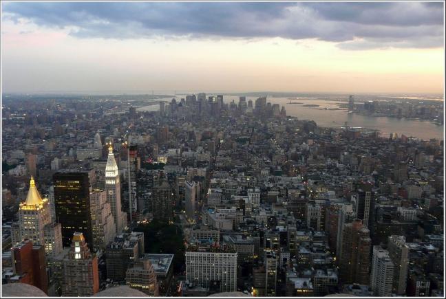 overlooking NY city !