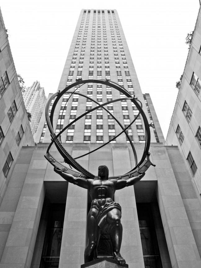 Atlas voor Rockefeller PLaza