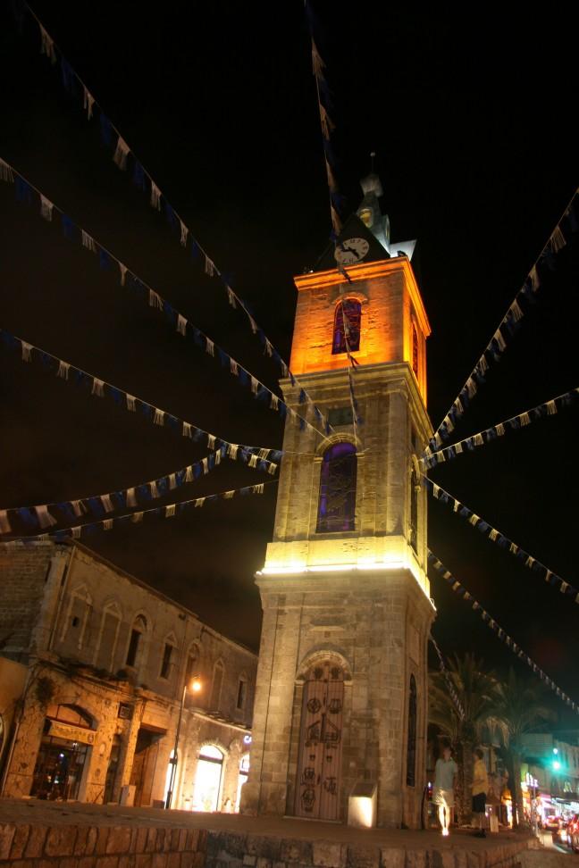 klokkentoren in Jaffa
