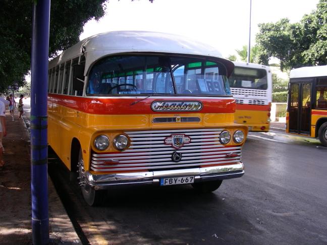 bussen op malta