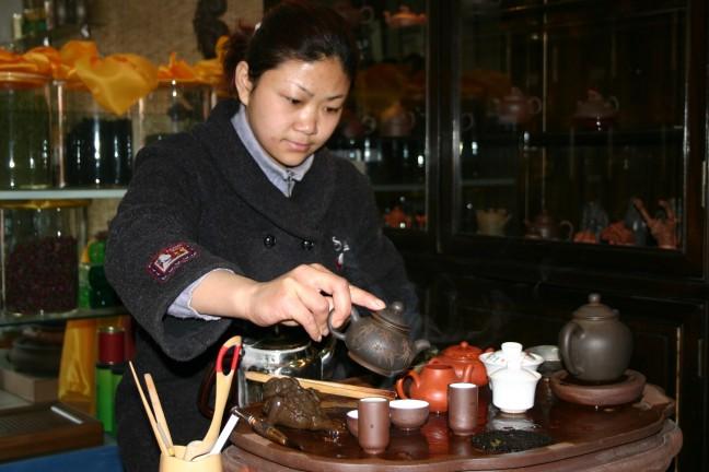 Chinese thee ceremonie