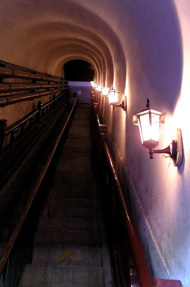 Trap naar Drum Tower