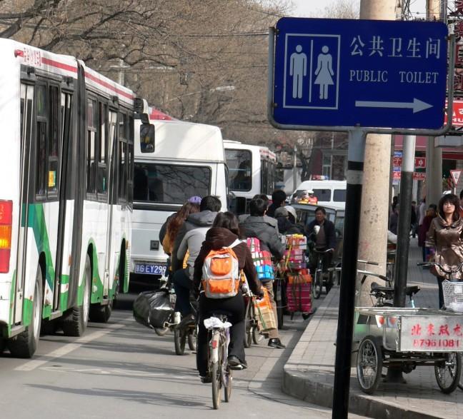 straatbeeld Beijing