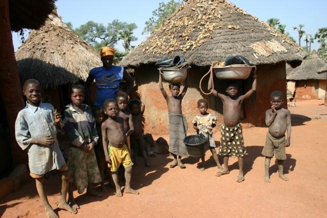 familie in Burkina