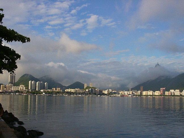 Urca baai uitzicht op Corcovado