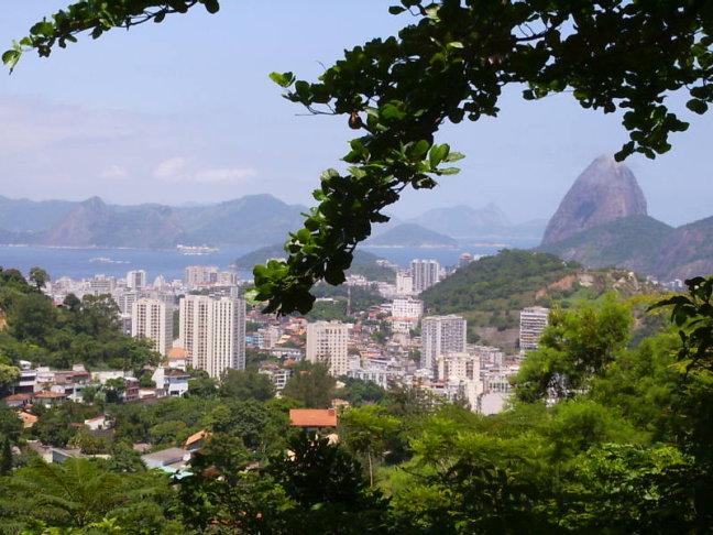 Uitzicht op de stad Rio de Janeiro P|ao de Acucar