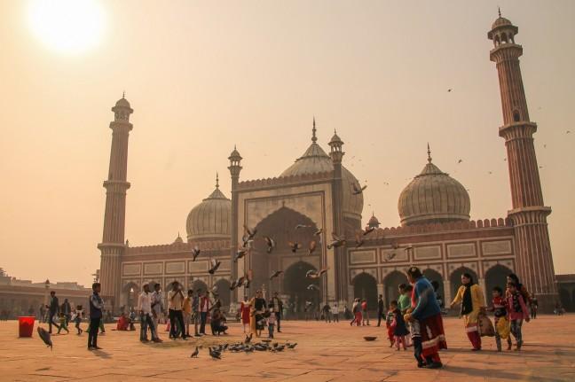 De Vrijdagmoskee van New Delhi