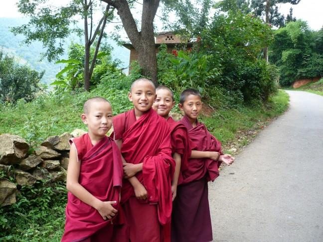 Op de weg naar Pharping