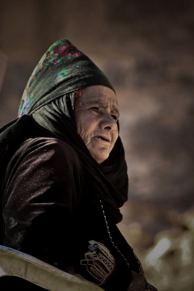 The witch of Petra