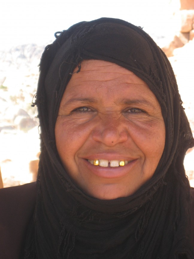 Nomaden vrouw