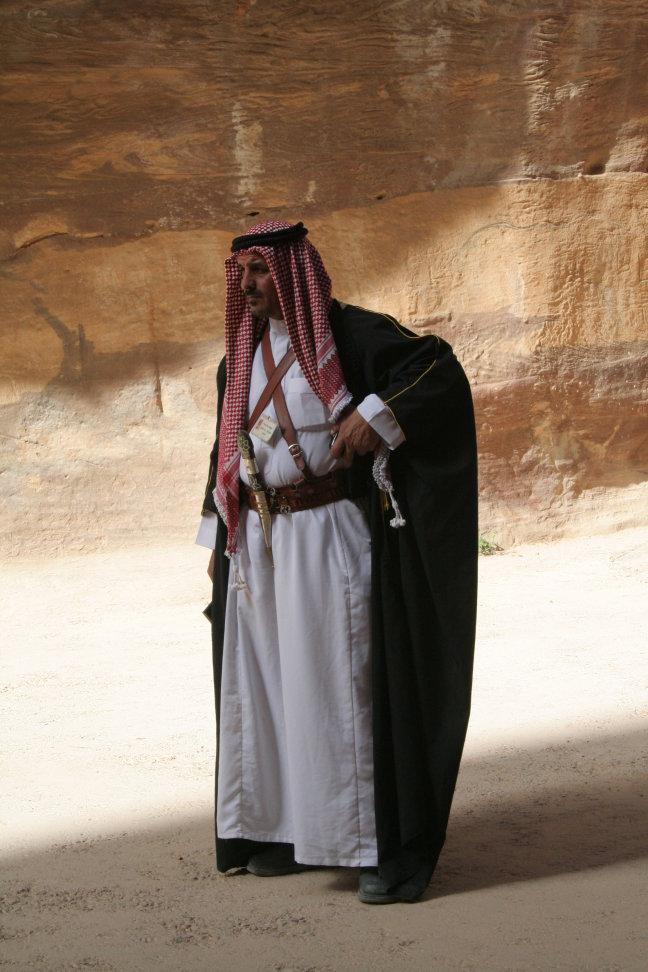Politieagent in Petra