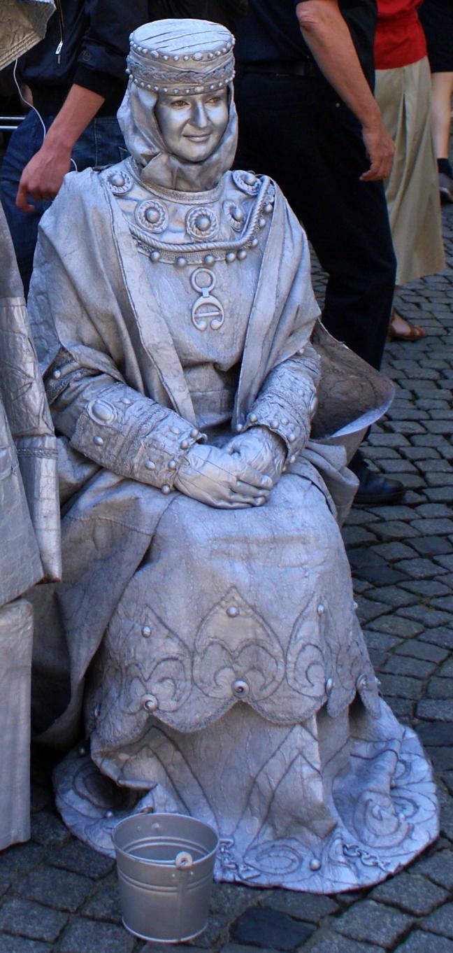 Zilveren koningin