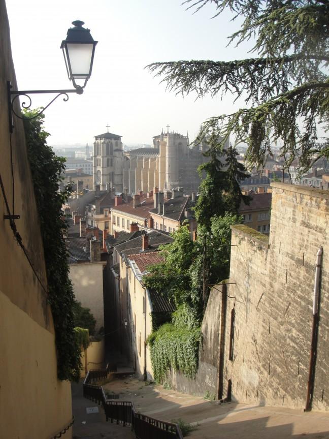 Doorkijkje in Lyon 2