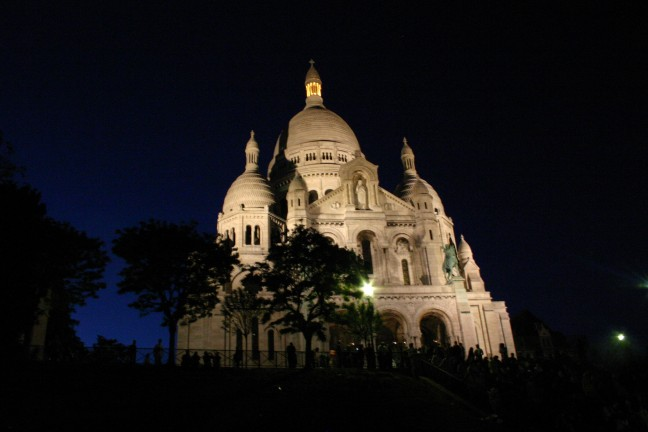 Sacre Coeur bij nacht
