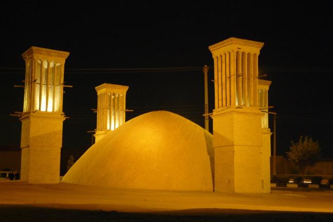 nacht in Yazd