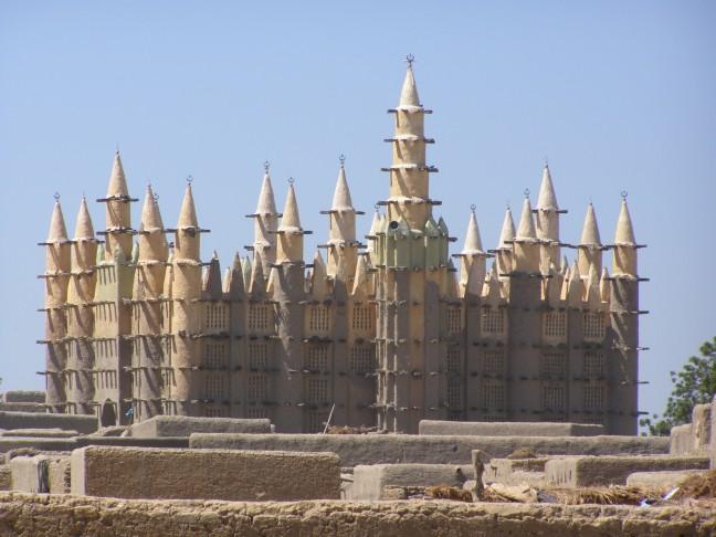 Moskee aan de Niger
