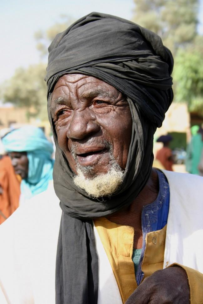 oude man in Timboektoe