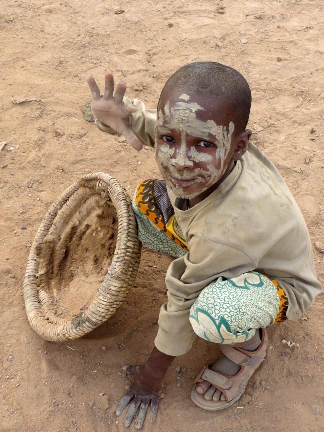 Een modderige groet uit Mali