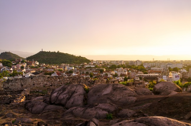 Uitzicht vanaf Nebet Hill