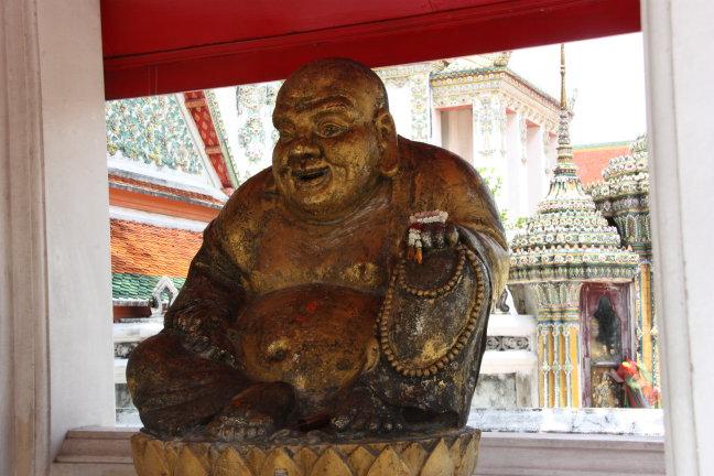 2008: Bangkok: Wat Po en boeddha