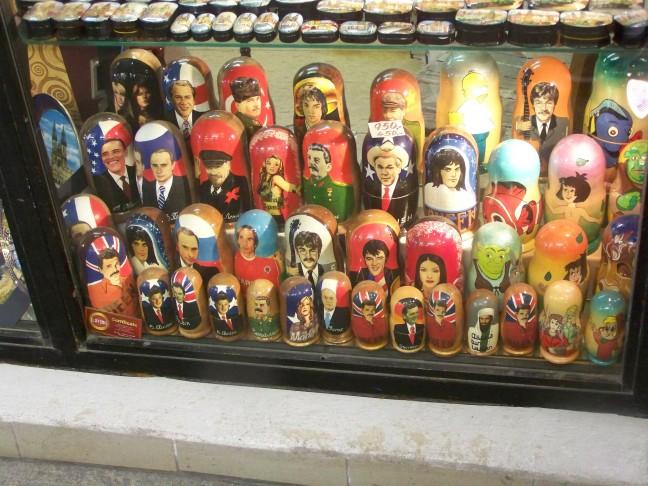 Matroesjka poppen in Praag