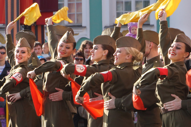Dans op de Dag van de overwinning