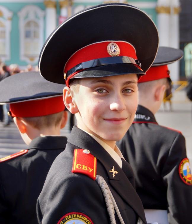 Mijn vriend Andrej op de dag van de Vrijheid