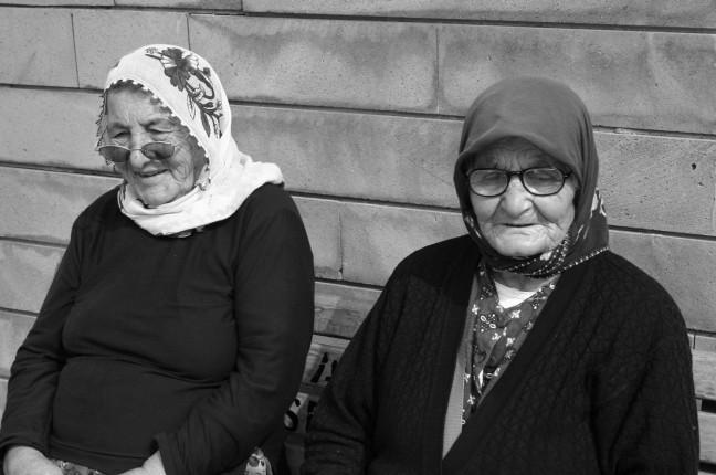 Twee Turkse vrouwen