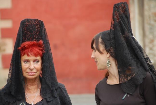 heilige processie in Sevilla