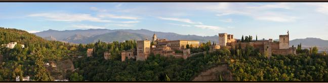 Panorama Alhambra