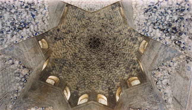 Binnenkant torentje van het Paleis - Alhambra