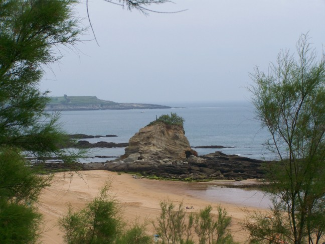 De kust bij Santander