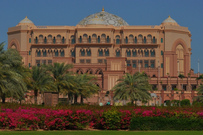 Emirates Palace.
