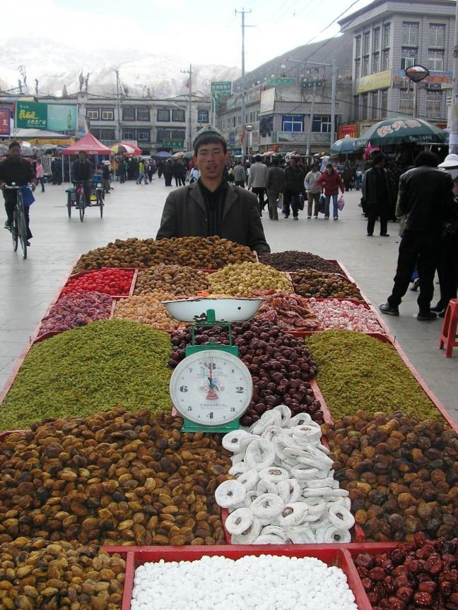 Gedroogd groente en fruit?