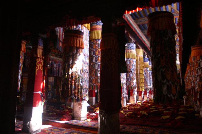 Sfeer in Tibetaans klooster