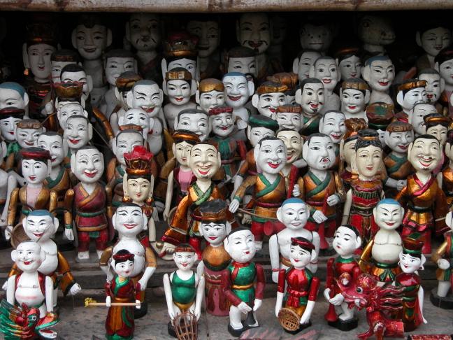 Drukte in Hanoi