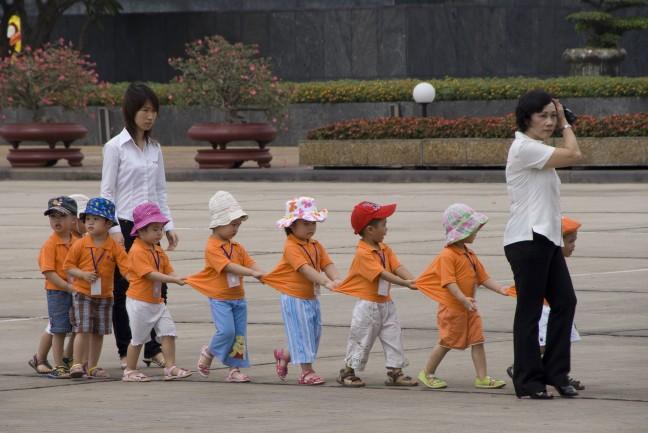 Schoolreisje naar Oom Ho
