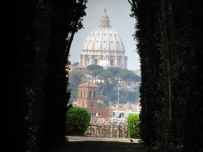 Bekendste sleutelgat van Rome (deel II)