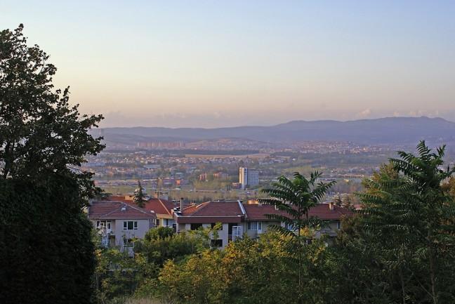 A view of Bursa
