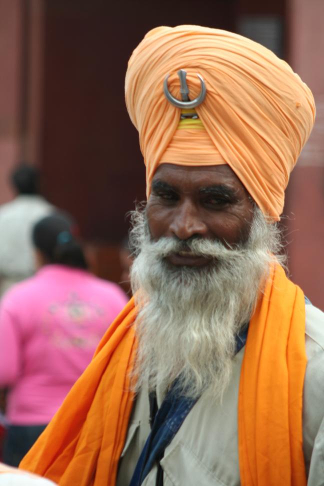 mooie man in Jaipur