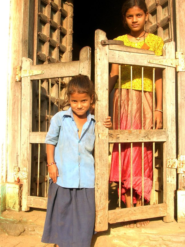 Dorpje bij Udaipur