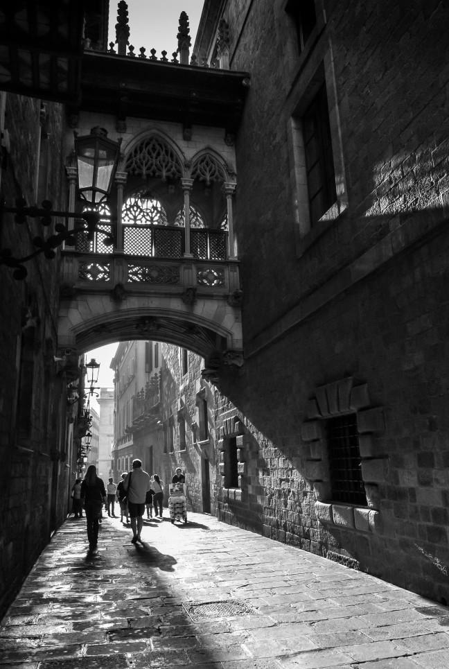 Straatjes in Barcelona