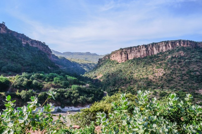 De Blue Nile Gorge