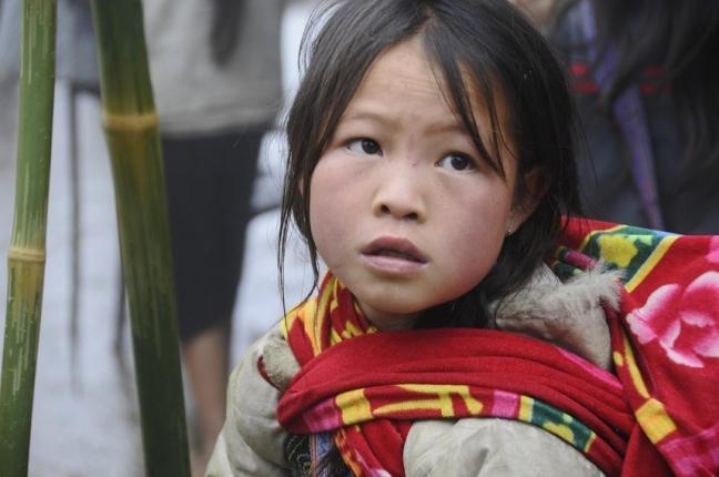 Het meisje met de bamboestokjes