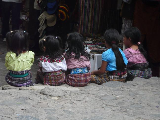 jonge indianenmeisjes