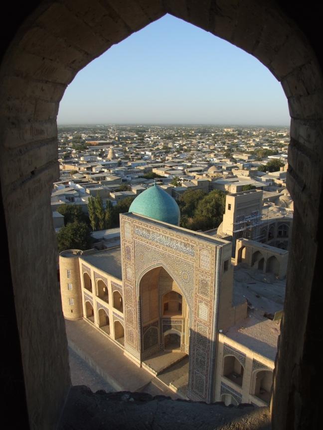 Minaret in Buchara