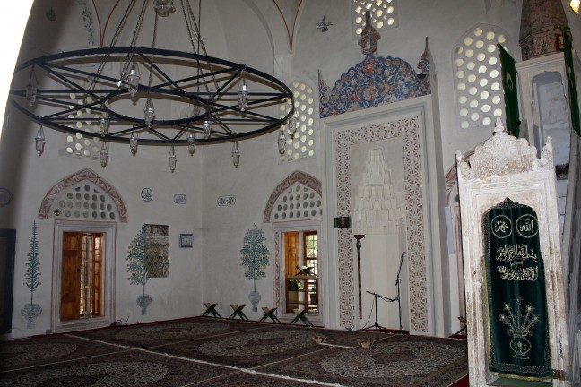 In de Moskee