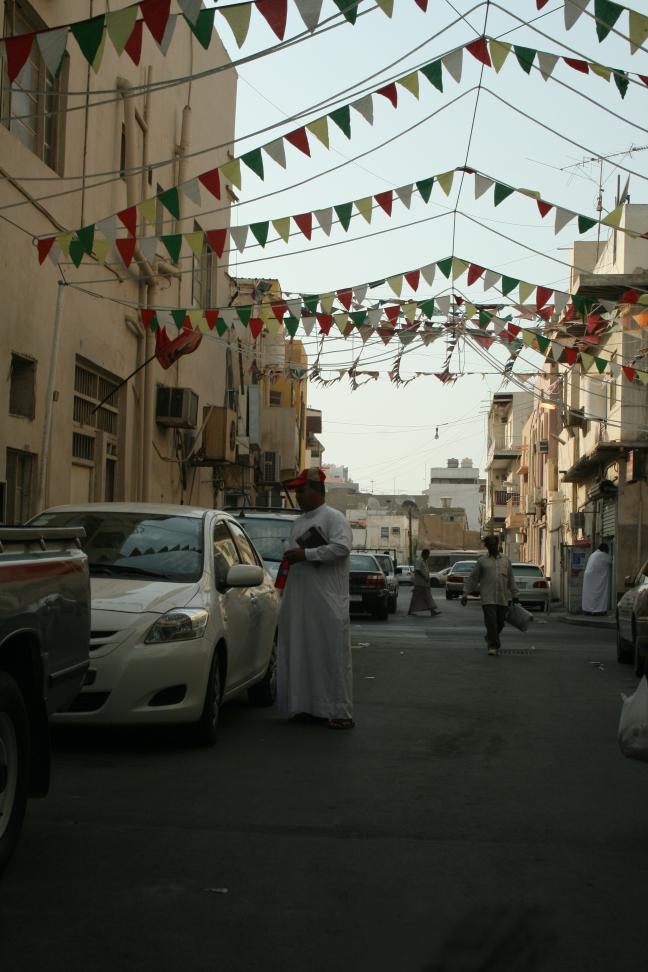 Feestelijk straatje